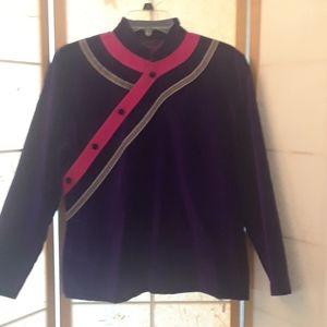 Velvet jacket vintage
